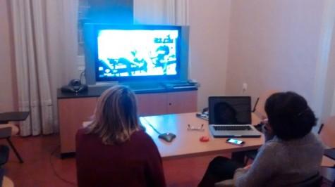Menorquins i eivissencs van poder seguir i participar a  la coordinadora per vídeoconferència.