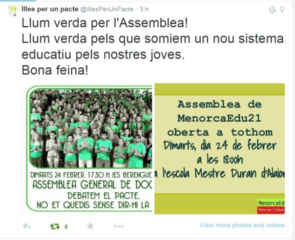 Tweet de Laurio Mascaró @laurio62