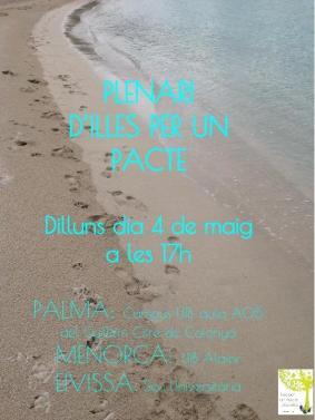 Illes Per un Pacte pósters (2)
