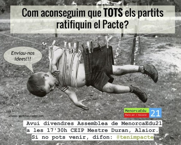 póster partits ratifiquin póster