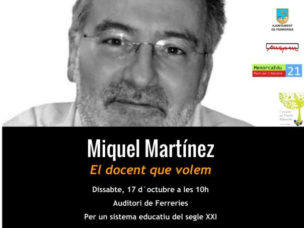 Póster Miquel Martínez